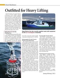Marine Technology Magazine, page 56,  Jan 2015