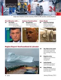 Marine Technology Magazine, page 4,  Jan 2015