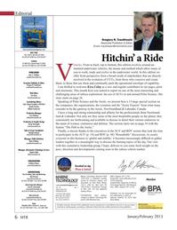 Marine Technology Magazine, page 6,  Jan 2015