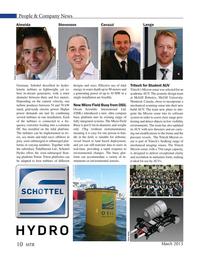 Marine Technology Magazine, page 10,  Mar 2015