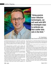 Marine Technology Magazine, page 30,  Mar 2015