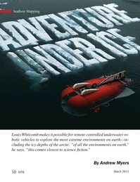 Marine Technology Magazine, page 50,  Mar 2015
