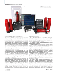 Marine Technology Magazine, page 64,  Mar 2015