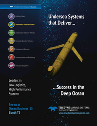 Marine Technology Magazine, page 5,  Mar 2015