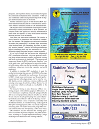 Marine Technology Magazine, page 69,  Mar 2015