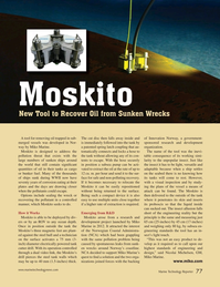 Marine Technology Magazine, page 77,  Mar 2015