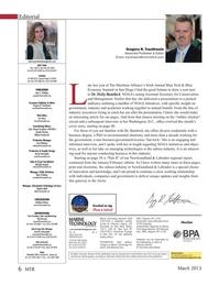 Marine Technology Magazine, page 6,  Mar 2015