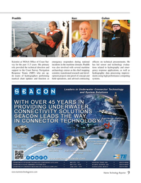 Marine Technology Magazine, page 9,  Apr 2015