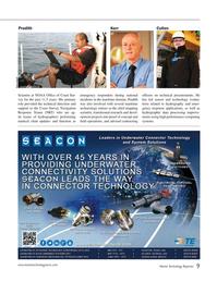 Marine Technology Magazine, page 9,  Apr 2015