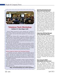Marine Technology Magazine, page 10,  Apr 2015