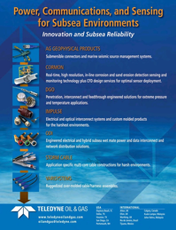 Marine Technology Magazine, page 13,  Apr 2015