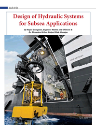 Marine Technology Magazine, page 18,  Apr 2015