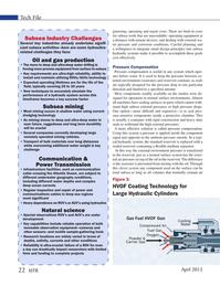 Marine Technology Magazine, page 22,  Apr 2015