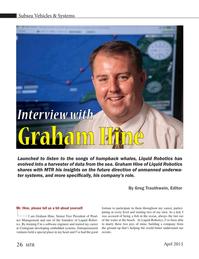 Marine Technology Magazine, page 26,  Apr 2015