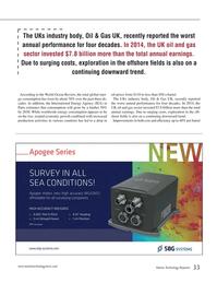 Marine Technology Magazine, page 33,  Apr 2015