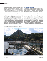 Marine Technology Magazine, page 34,  Apr 2015
