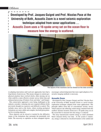 Marine Technology Magazine, page 36,  Apr 2015