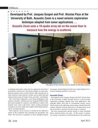 Marine Technology Magazine, page 36,  Apr 2015