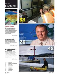 Marine Technology Magazine, page 2,  Apr 2015