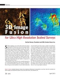 Marine Technology Magazine, page 38,  Apr 2015