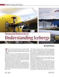 Marine Technology Magazine, page 42,  Apr 2015