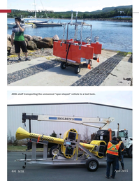 Marine Technology Magazine, page 44,  Apr 2015