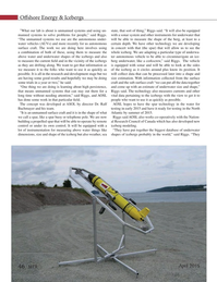 Marine Technology Magazine, page 46,  Apr 2015