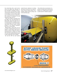 Marine Technology Magazine, page 47,  Apr 2015