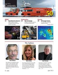 Marine Technology Magazine, page 4,  Apr 2015