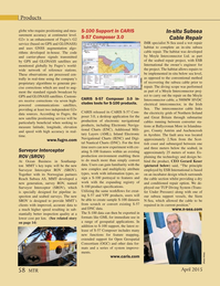 Marine Technology Magazine, page 58,  Apr 2015