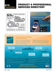 Marine Technology Magazine, page 62,  Apr 2015