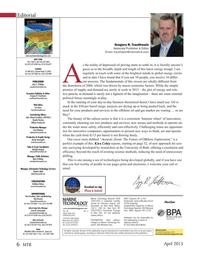 Marine Technology Magazine, page 6,  Apr 2015
