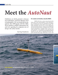 Marine Technology Magazine, page 14,  May 2015