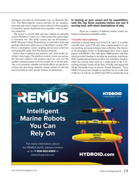 Marine Technology Magazine, page 19,  May 2015