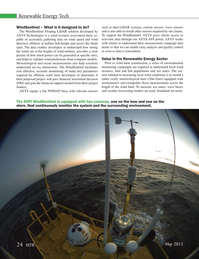 Marine Technology Magazine, page 24,  May 2015