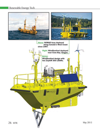 Marine Technology Magazine, page 26,  May 2015