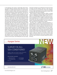 Marine Technology Magazine, page 27,  May 2015
