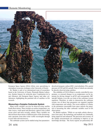 Marine Technology Magazine, page 34,  May 2015