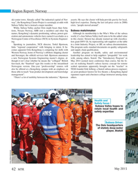 Marine Technology Magazine, page 42,  May 2015