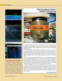 Marine Technology Magazine, page 55,  May 2015