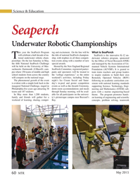 Marine Technology Magazine, page 60,  May 2015