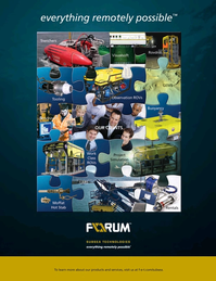 Marine Technology Magazine, page 4th Cover,  May 2015