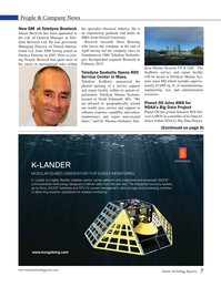Marine Technology Magazine, page 7,  May 2015
