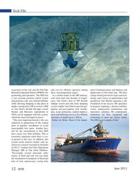 Marine Technology Magazine, page 12,  Jun 2015