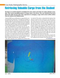 Marine Technology Magazine, page 22,  Jun 2015