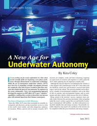 Marine Technology Magazine, page 32,  Jun 2015