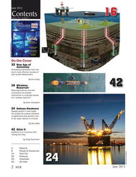 Marine Technology Magazine, page 2,  Jun 2015