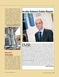 Marine Technology Magazine, page 59,  Jun 2015