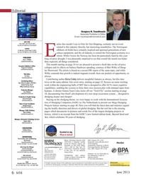 Marine Technology Magazine, page 6,  Jun 2015