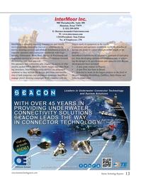 Marine Technology Magazine, page 13,  Jul 2015